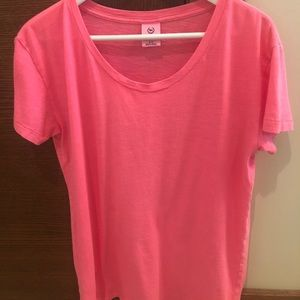 🌷 PINK Victoria's Secret crew neck t shirt